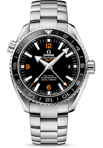Omega Watches - Seamaster Planet Ocean 600 M Co-Axial GMT 43.5 mm - Stainless Steel - Style No: 232.30.44.22.01.002