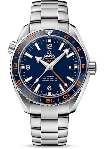 Omega Watches - Seamaster Planet Ocean 600 M Co-Axial GMT 43.5 mm - Stainless Steel - Style No: 232.30.44.22.03.001