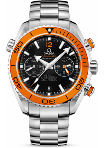 Omega Watches - Seamaster Planet Ocean 600M Co-Axial 45.5 mm - Stainless Steel - Style No: 232.30.46.51.01.002