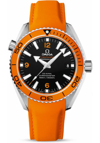Omega Watches - Seamaster Planet Ocean 600 M Co-Axial 42 mm - Stainless Steel - Rubber Strap - Style No: 232.32.42.21.01.001