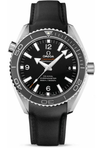 Omega Watches - Seamaster Planet Ocean 600 M Co-Axial 42 mm - Stainless Steel - Rubber Strap - Style No: 232.32.42.21.01.003
