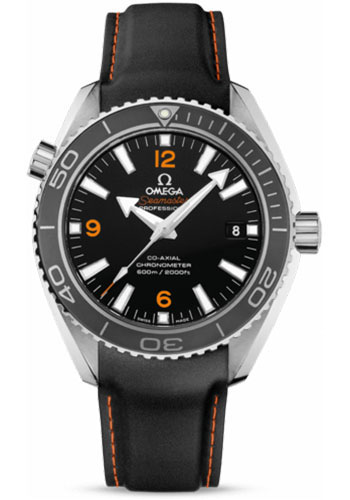 Omega Watches - Seamaster Planet Ocean 600 M Co-Axial 42 mm - Stainless Steel - Rubber Strap - Style No: 232.32.42.21.01.005