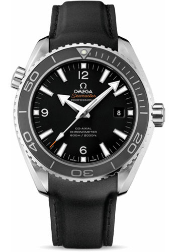 Omega Watches - Seamaster Planet Ocean 600 M Co-Axial 45.5 mm - Stainless Steel - Leather Strap - Style No: 232.32.46.21.01.003