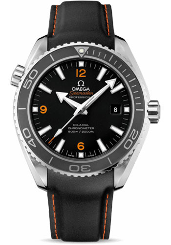 Omega Watches - Seamaster Planet Ocean 600 M Co-Axial 45.5 mm - Stainless Steel - Leather Strap - Style No: 232.32.46.21.01.005