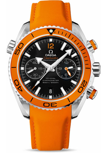 Omega Watches - Seamaster Planet Ocean 600 M Co-Axial Chronograph 45.5 mm - Stainless Steel - Rubber Strap - Style No: 232.32.46.51.01.001