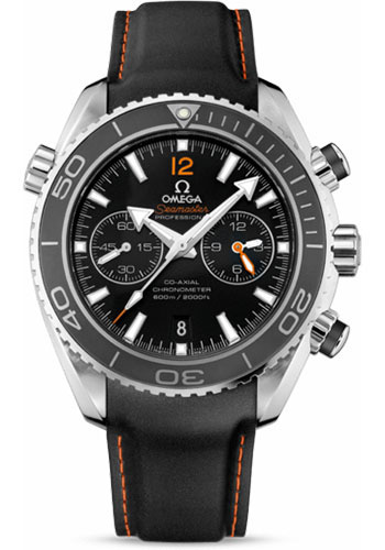 Omega Watches - Seamaster Planet Ocean 600 M Co-Axial Chronograph 45.5 mm - Stainless Steel - Rubber Strap - Style No: 232.32.46.51.01.005