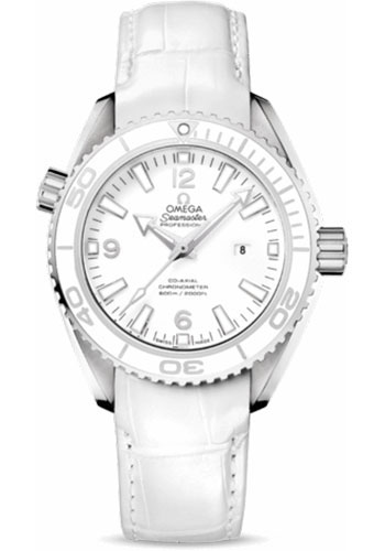 Omega Watches - Seamaster Planet Ocean 600 M Co-Axial 37.5 mm - Stainless Steel - Leather Strap - Style No: 232.33.38.20.04.001