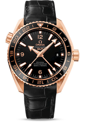 Omega Watches - Seamaster Planet Ocean 600 M Co-Axial 43.5 mm - Red Gold - Style No: 232.63.44.22.01.001