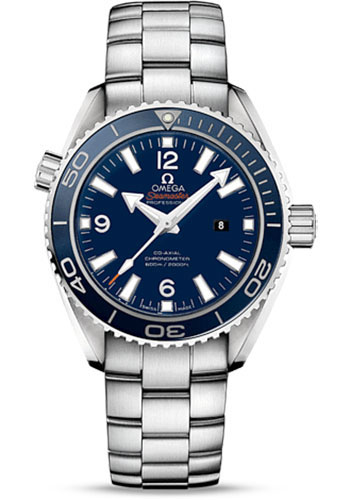 Omega Watches - Seamaster Planet Ocean 600 M Co-Axial 37.5 mm - Titanium - Style No: 232.90.38.20.03.001