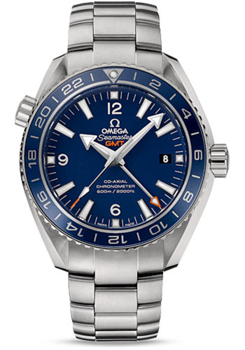 Omega Watches - Seamaster Planet Ocean 600 M Co-Axial GMT 43.5mm - Titanium - Style No: 232.90.44.22.03.001