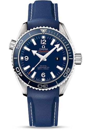 Omega Watches - Seamaster Planet Ocean 600 M Co-Axial 37.5 mm - Titanium - Rubber Strap - Style No: 232.92.38.20.03.001