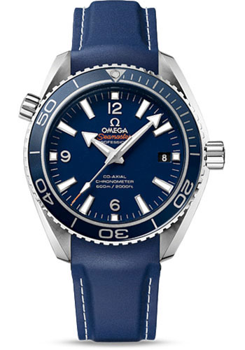 Omega Watches - Seamaster Planet Ocean 600 M Co-Axial 42 mm - Titanium - Rubber Strap - Style No: 232.92.42.21.03.001