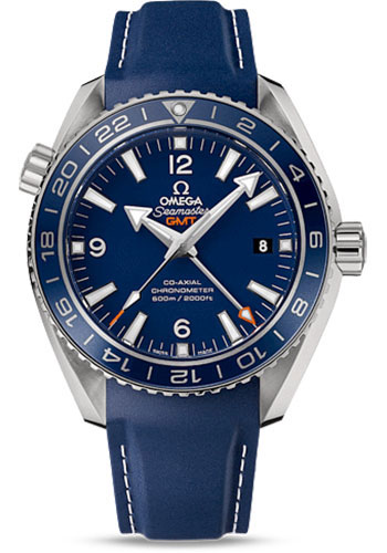 Omega Watches - Seamaster Planet Ocean 600 M Co-Axial GMT 43.5mm - Titanium - Style No: 232.92.44.22.03.001