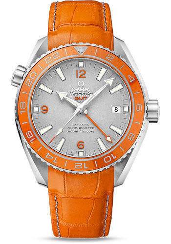 Omega Watches - Seamaster Planet Ocean 600 M Co-Axial GMT 43.5 mm - Platinum - Style No: 232.93.44.22.99.001