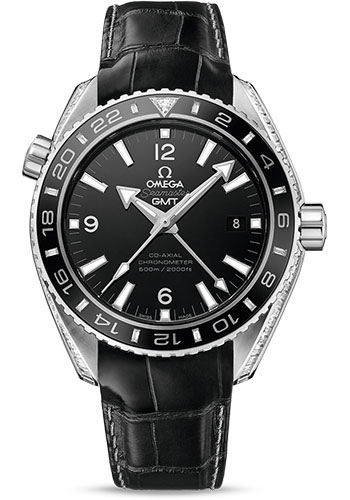 Omega Watches - Seamaster Planet Ocean 600 M Co-Axial GMT 43.5 mm - Platinum - Style No: 232.98.44.22.01.001