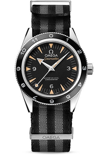Omega Watches - Seamaster 300 Omega Master Co-Axial 41 mm - Stainless Steel - SPECTRE - James Bond - Style No: 233.32.41.21.01.001