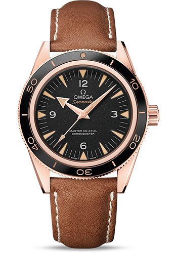 Omega Watches - Seamaster 300 Omega Master Co-Axial 41 mm - Sedna Gold - Style No: 233.62.41.21.01.002