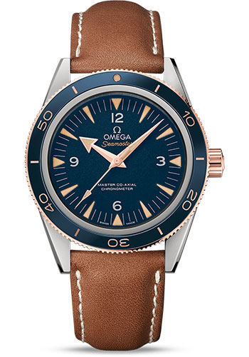 Omega Watches - Seamaster 300 Omega Master Co-Axial 41 mm - Titanium - Style No: 233.62.41.21.03.001