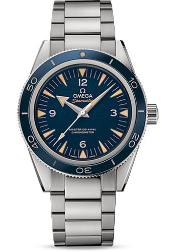 Omega Watches - Seamaster 300 Omega Master Co-Axial 41 mm - Titanium - Style No: 233.90.41.21.03.001