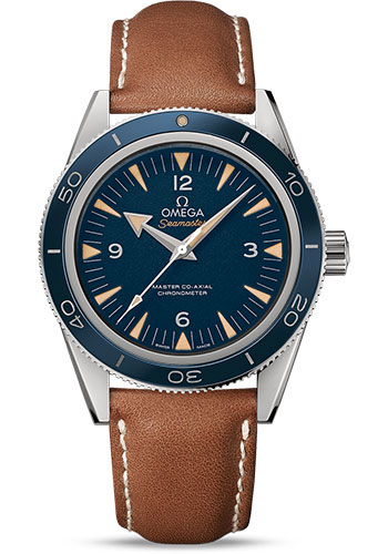 Omega Watches - Seamaster 300 Omega Master Co-Axial 41 mm - Titanium - Style No: 233.92.41.21.03.001