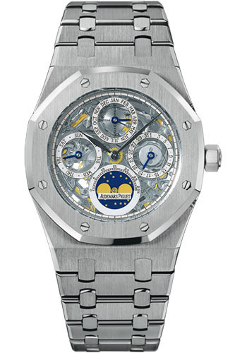 Audemars Piguet Watches - Royal Oak Perpetual Calendar - Platinum - Style No: 25829PT.OO.0944PT.01
