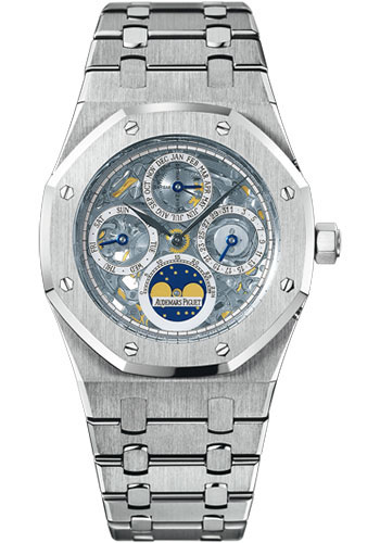 Audemars Piguet Watches - Royal Oak Perpetual Calendar - Stainless Steel - Style No: 25829ST.OO.0944ST.01