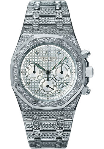Audemars Piguet Watches - Royal Oak Chronograph 39mm - White Gold - Style No: 25967BC.ZZ.1185BC.01