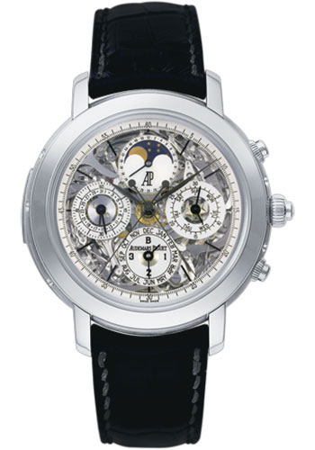 Audemars Piguet Watches - Jules Audemars Grande Complication - Style No: 25996PT.OO.D002CR.01