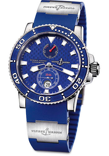 Ulysse Nardin Watches - Marine Diver 42.7mm - White Gold - Style No: 260-32-3A