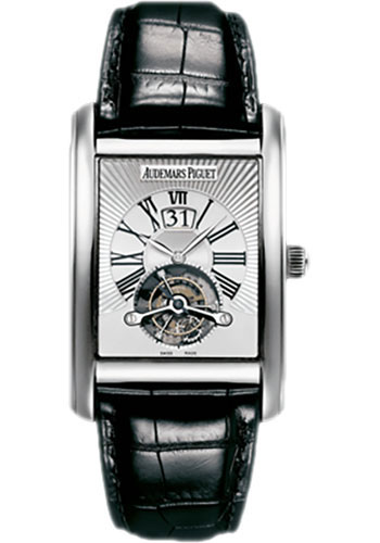 Audemars Piguet Watches - Edward Piguet Large Date Tourbillon - Style No: 26009BC.OO.D002CR.01