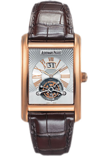 Audemars Piguet Watches - Edward Piguet Large Date Tourbillon - Style No: 26009OR.OO.D088CR.01