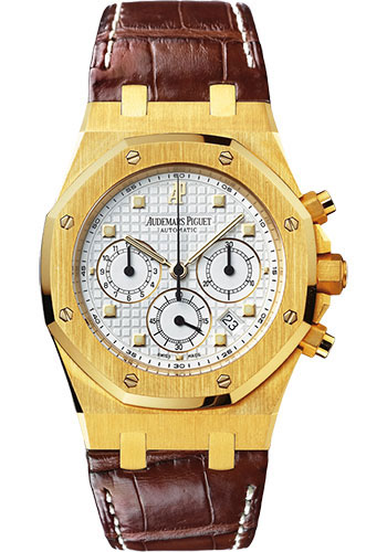 Audemars Piguet Watches - Royal Oak Chronograph 40mm - Yellow Gold - Style No: 26022BA.OO.D088CR.01