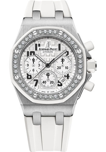 Audemars Piguet Watches - Royal Oak Offshore Lady Chronograph - Stainless Steel - Style No: 26048SK.ZZ.D010CA.01