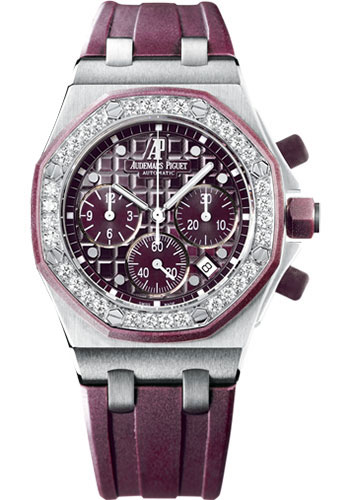 Audemars Piguet Watches - Royal Oak Offshore Lady Chronograph - Stainless Steel - Style No: 26048SK.ZZ.D066CA.01