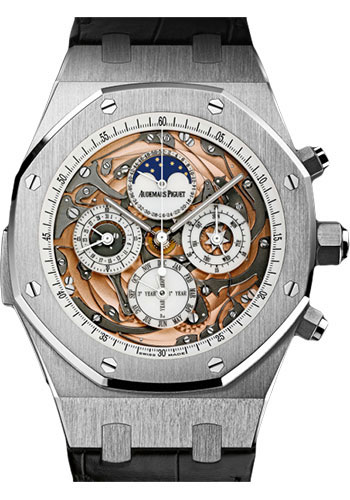 Audemars Piguet Watches - Royal Oak Tourbillon Chronograph - Style No: 26065ST.OO.D002CR.01