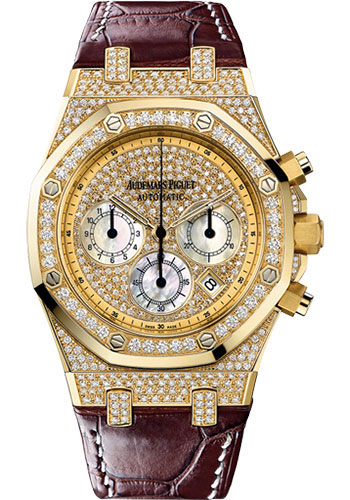 Audemars Piguet Watches - Royal Oak Chronograph 39mm - Yellow Gold - Style No: 26068BA.ZZ.D088CR.01