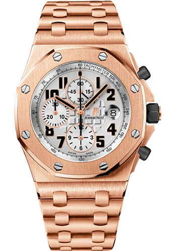 Audemars Piguet Watches - Royal Oak Offshore Chronograph 42mm - Pink Gold - Style No: 26170OR.OO.1000OR.01
