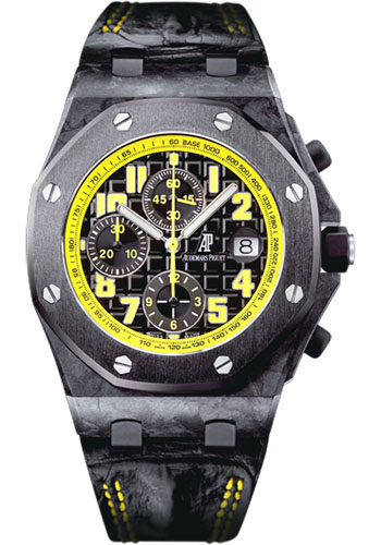 Audemars Piguet Watches - Royal Oak Offshore Chronograph 42mm - Carbon - Style No: 26176FO.OO.D101CR.03