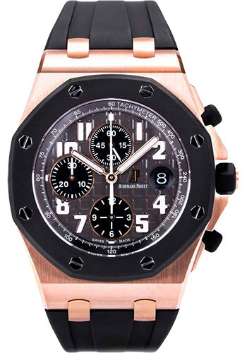 Audemars Piguet Watches - Royal Oak Offshore Chronograph - Pink Gold - Style No: 26178OK.OO.D002CA.01
