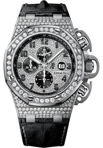 Audemars Piguet Watches - Royal Oak Offshore Chronograph 48mm - White Gold - Style No: 26215BC.ZZ.A101CR.01
