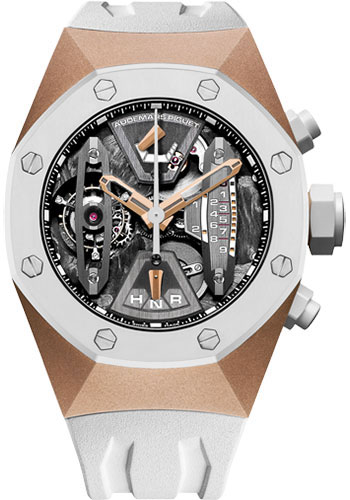 Audemars Piguet Watches - Royal Oak Concept Tourbillon Chronograph - Pink Gold - Style No: 26223RO.OO.D010CA.01