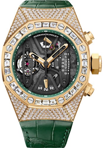 Audemars Piguet Watches - Royal Oak Concept Tourbillon Chronograph - Yellow Gold - Style No: 26225BA.ZZ.D400CR.01