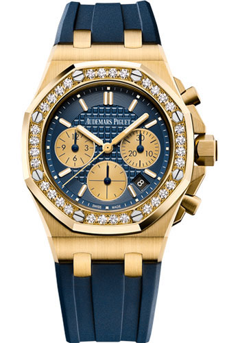 Audemars Piguet Watches - Royal Oak Offshore Chronograph 37mm - Yellow Gold - Style No: 26231BA.ZZ.D027CA.01