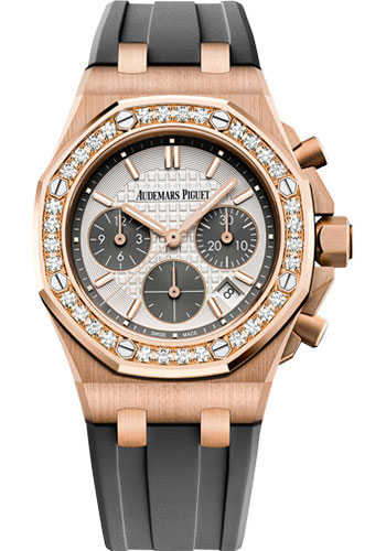 Audemars Piguet Watches - Royal Oak Offshore Chronograph 37mm - Pink Gold - Style No: 26231OR.ZZ.D003CA.01