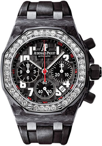 Audemars Piguet Watches - Royal Oak Offshore Lady Chronograph - Carbon - Style No: 26267FS.ZZ.D002CA.02