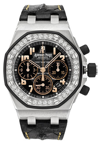 Audemars Piguet Watches - Royal Oak Offshore Chronograph - Stainless Steel - Style No: 26282SK.ZZ.D101CR.01
