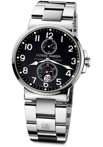 Ulysse Nardin Watches - Marine Chronometer 41mm - Stainless Steel - Bracelet - Style No: 263-66-7/62