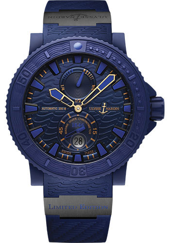 Ulysse Nardin Watches - Diver Blue Ocean - Style No: 263-99LE-3C