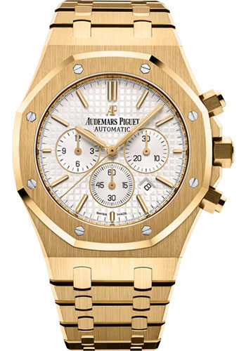 Audemars Piguet Watches - Royal Oak Chronograph 41mm - Yellow Gold - Style No: 26320BA.OO.1220BA.01