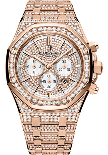 Audemars Piguet Watches - Royal Oak Chronograph 41mm - Pink Gold - Style No: 26322OR.ZZ.1222OR.01